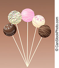 cake lollipops
