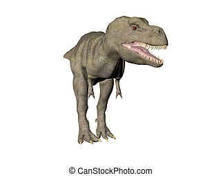 Tyrannosaurus Rex - An illustration of the dinosaur...