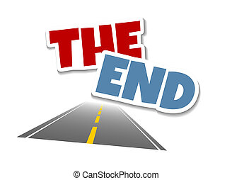 The end - An illustration of The end symbol