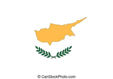 Illustration of the flag of Cyprus