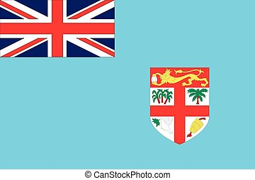 Illustration of the flag of Fiji