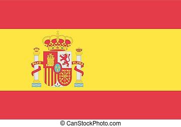 Illustration of the flag of Spain