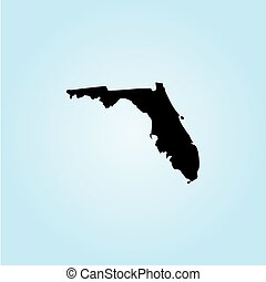 Illustration of the United States of America State - Florida