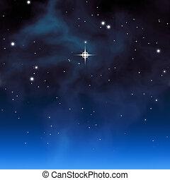 christmas star - An image of a beautiful christmas star...