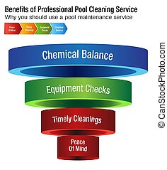 Benefits of Professional Pool Cleaning Service Chart