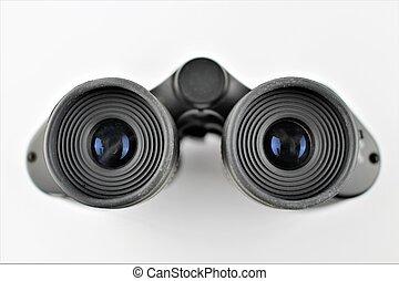 An image of a binocular