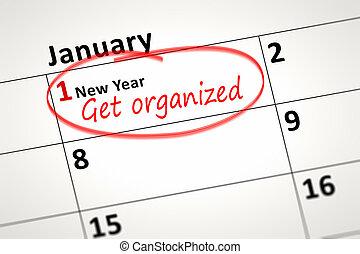 calendar detail - An image of a calendar detail shows first ...