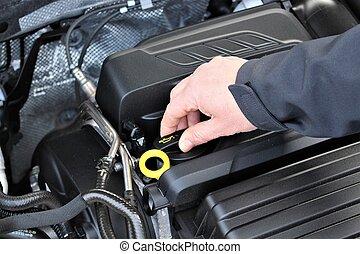 An image of a car service