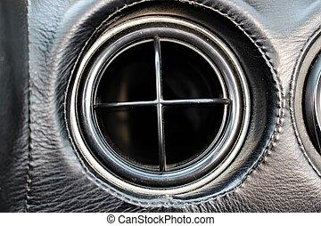 An image of a car ventilation