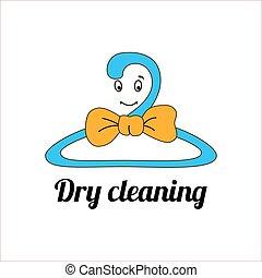 An image of a cartoon laundry symbol.