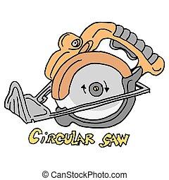 circular saw power tool
