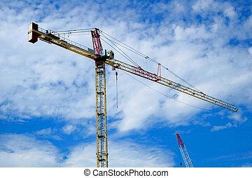 An image of a crane