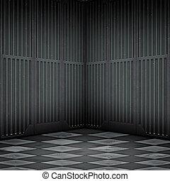 steel room