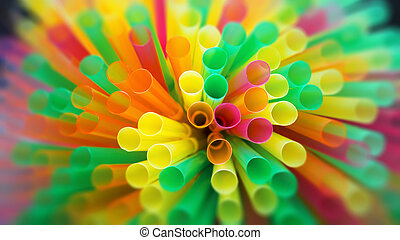 drinking straw background - An image of a drinking straw...