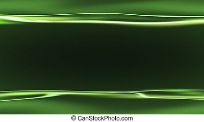 green background with light streaks - An image of a green...