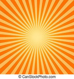 hot sun - An image of a hot sun background