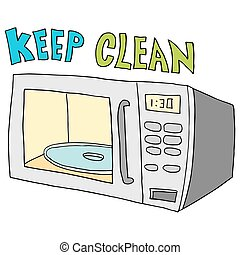 keep microwave clean - An image of a  keep microwave clean.