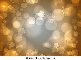 An image of a natural bokeh background