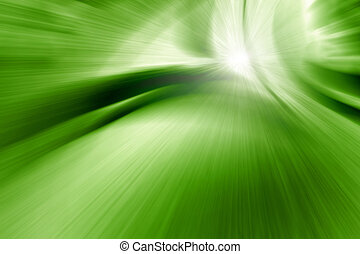 abstract zoom green - An image of a nice abstract zoom green...