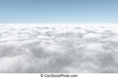 An image of a nice cloudscape background