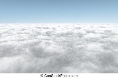 cloudscape - An image of a nice cloudscape background