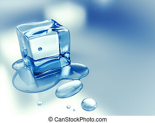 ice cube background - An image of a nice ice cube background