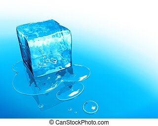 ice cube - An image of a nice ice cube