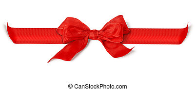 red bow - An image of a nice red bow