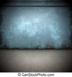 steel floor - An image of a nice steel floor background