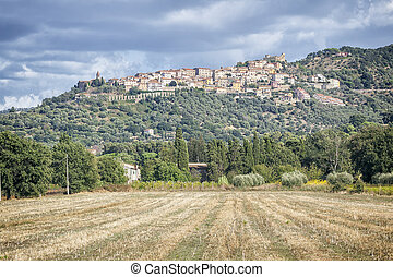 Montepulciano - An image of a nice view to Montepulciano in ...