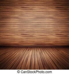 wooden floor - An image of a nice wooden floor background