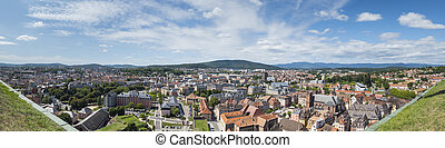 panoramic view to Belfort France