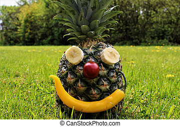 An Image of a pineapple