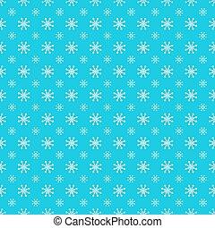 Repeating Snowflake Pattern