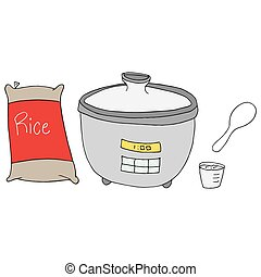 rice cooker maker - An image of a  rice cooker maker.