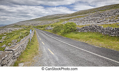 An image of a Ring of Kerry road Ireland
