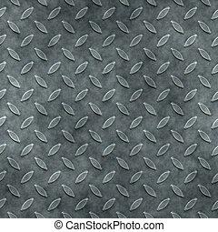 seamless diamond metal plate texture