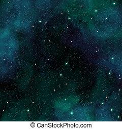 star field - An image of a seamless star field