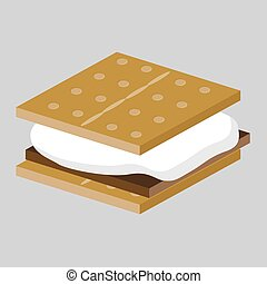 Smores Treat - An image of a Smores Treat.