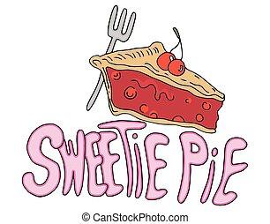 Sweetie Pie Valentines Day Message