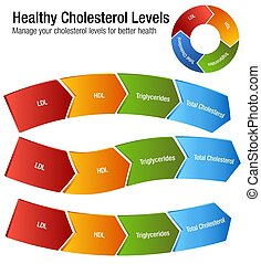Total Blood Cholesterol HDL LDL Triglycerides Chart - An...