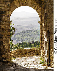 Tuscany - An image of a Tuscany landscape in Italy