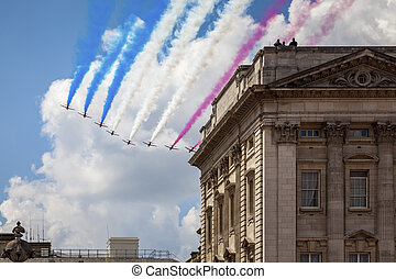 air show at London