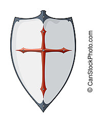 An image of an old vintage shield