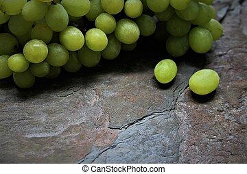 An image of dark grapes