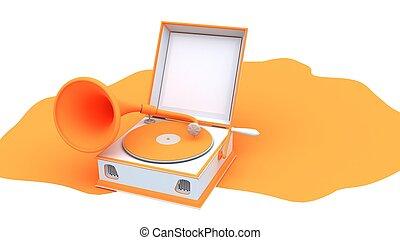 An Image of Gramophone