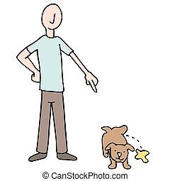 Potty Training Puppy Dog