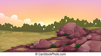 An image of rocks