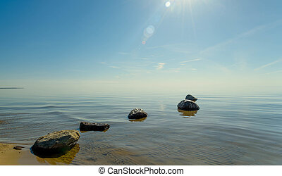 image of the beautiful water background