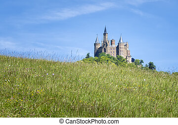 Castle Hohenzollern - An image of the Castle Hohenzollern in...